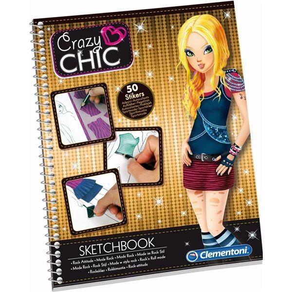 Sketchbook rock crazy chic