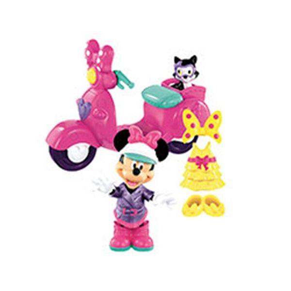 Mickey vespa con figura