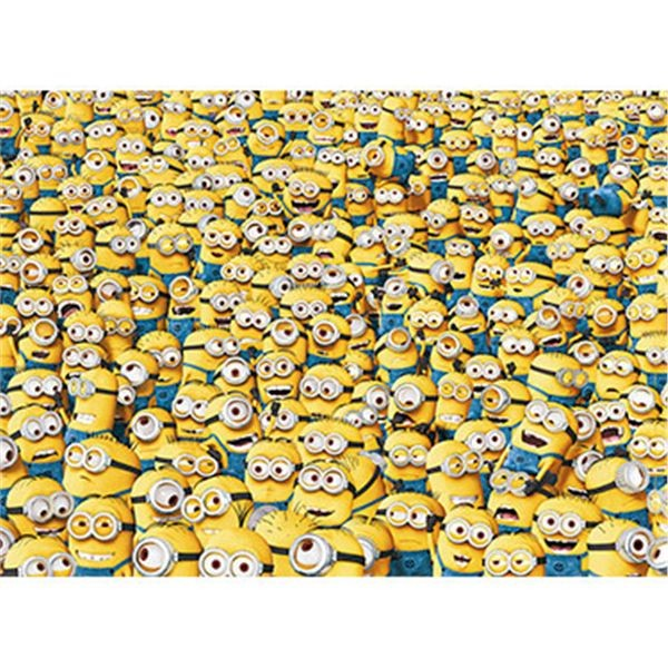 Puzzle 1000 despicable me minions