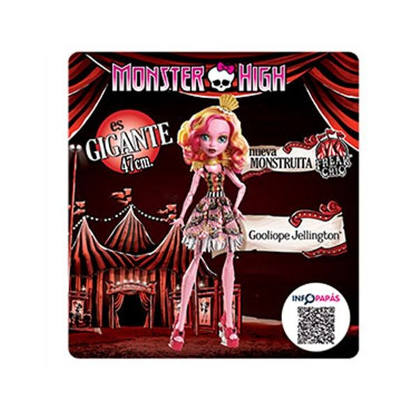 Mueca gooliope jellington / monster high