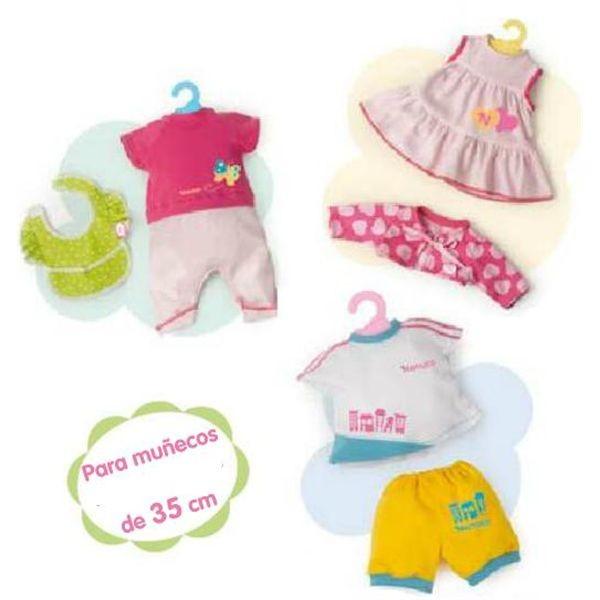 Nenuco 35 ropa con percha (precio unidad)