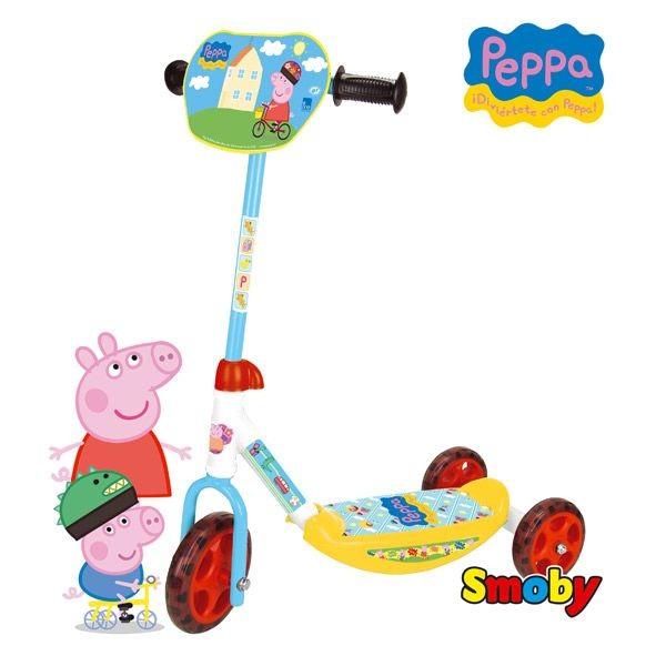 Patinete 3 ruedas peppa pig