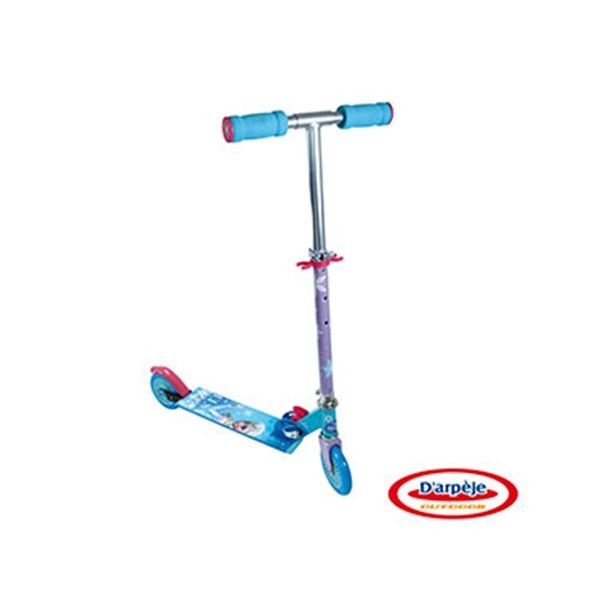 Patinete 2 ruedas plegable frozen