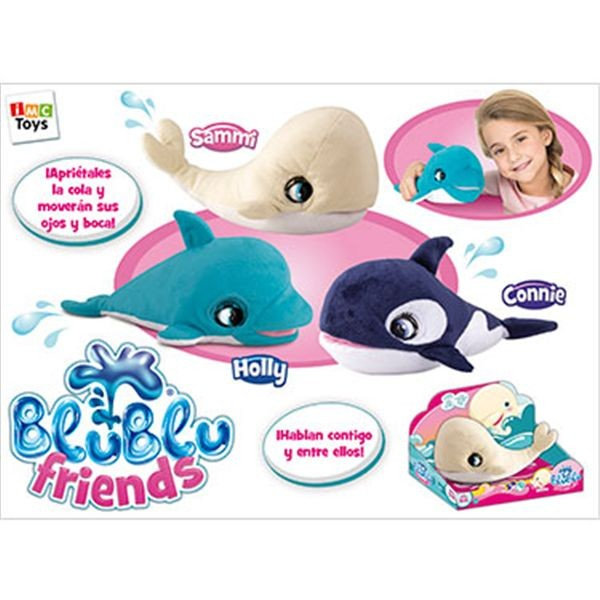 Connie orca blu blu friends