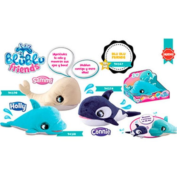Holly delfin blu blu friends