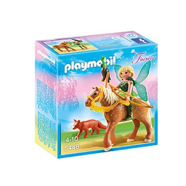 Hada del bosque diana con caballo