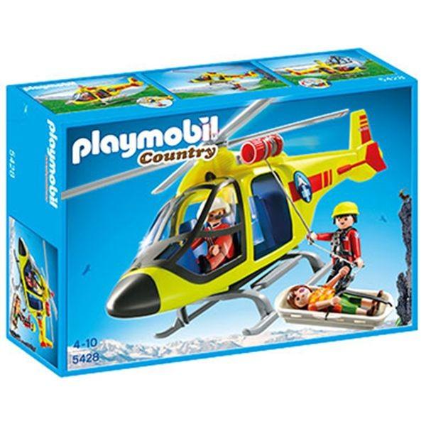 Helicoptero rescate de montaa