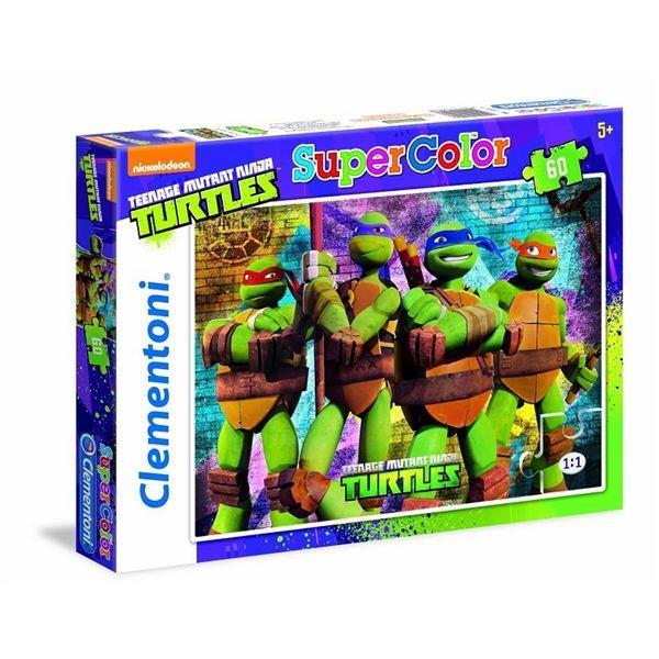 Puzzle 60 tortugas ninja