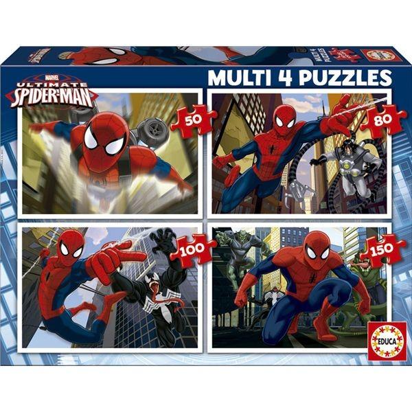 Multi 4 puzzle ultimate spiderman