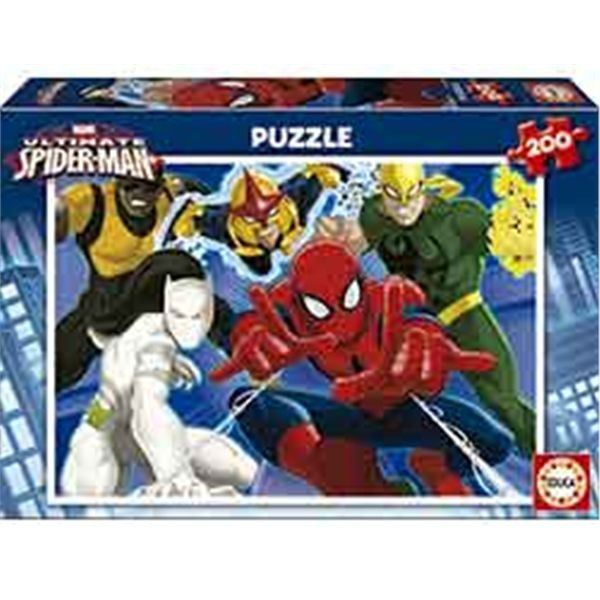Puzzle 200 ultimate spiderman