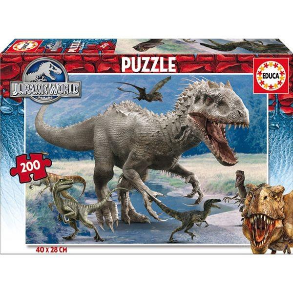 Puzzle 200 jurassic world