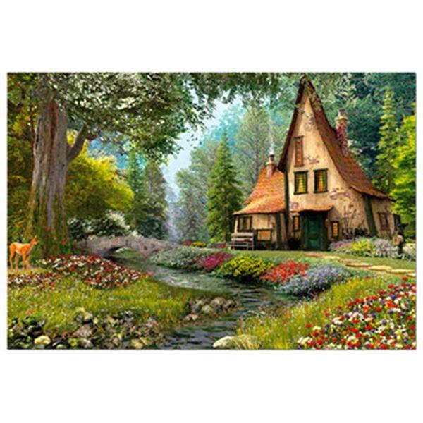 Puzzle 6000 casita de cuentos