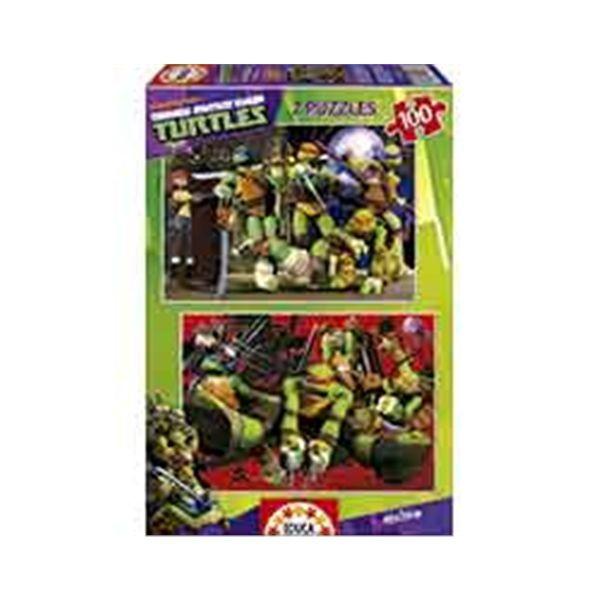 Puz.2 x 100 tortugas ninja