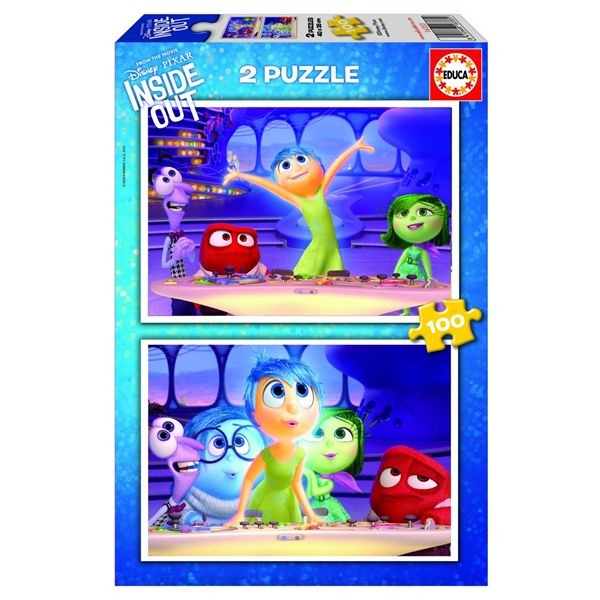 Puzzle 2 x 100 inside out