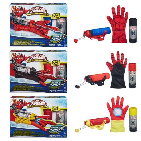 Spiderman mega blaster colores surtidos