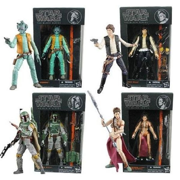 Star wars figura 15 cm. black serie /precio unidad