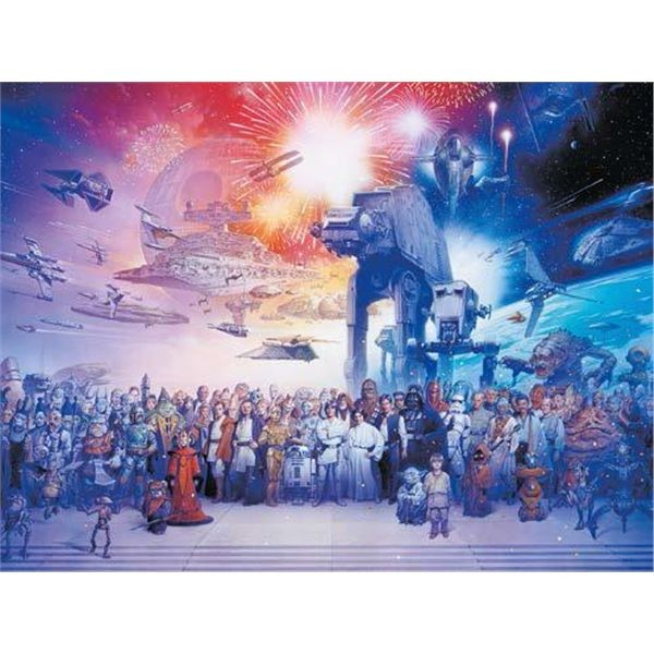 Puzzle 2000 star wars