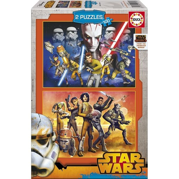 Puzzle 2 x 100 star wars rebels