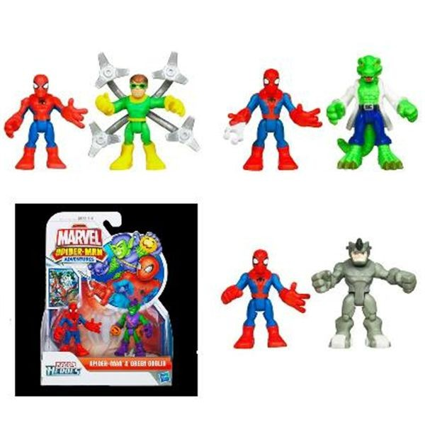Spiderman pack 2 figuras playkool