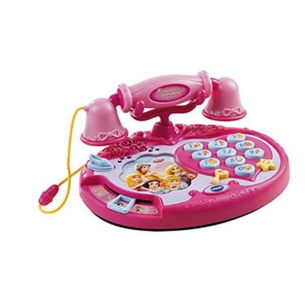 Telefono aprendo con princesas
