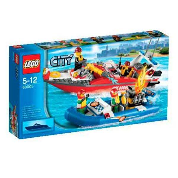 Barco de bomberos city