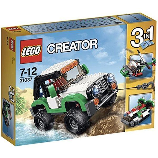 Creator vehiculos de aventura