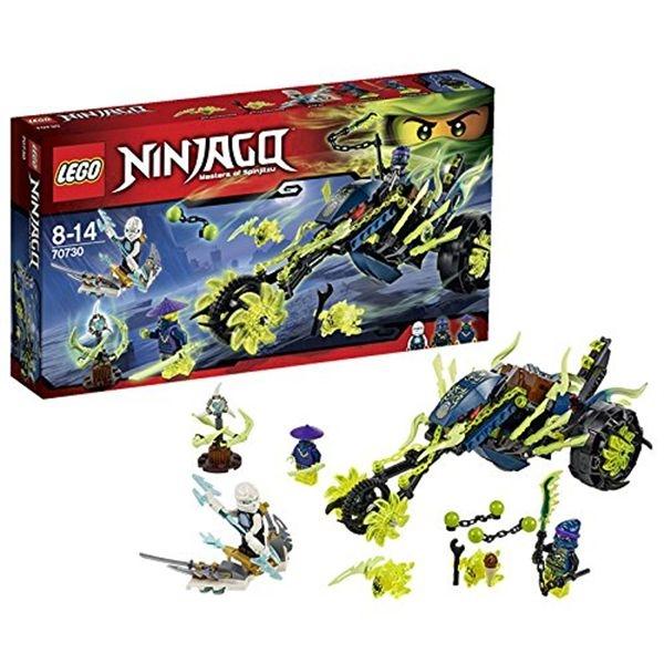 Ninjago emboscada en la moto encadenada