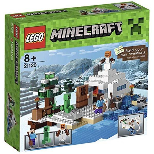 Minecraft la guarida de la nieve