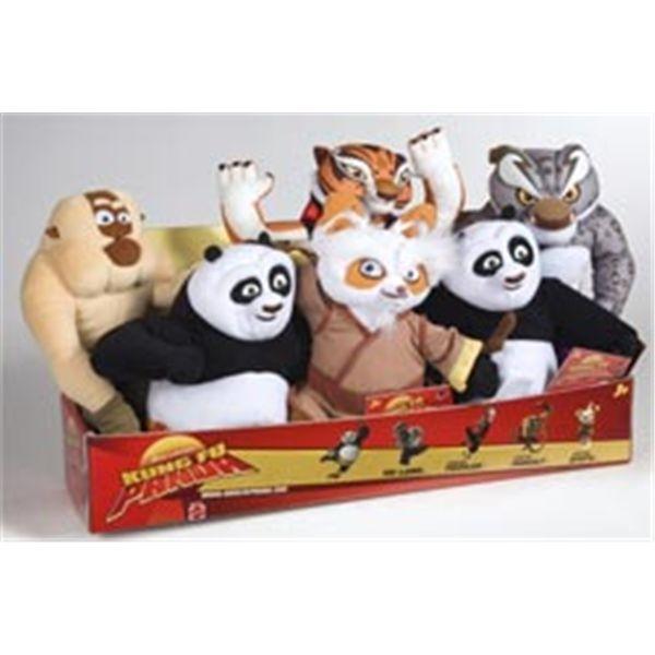 Peluche guerreros kung fu panda