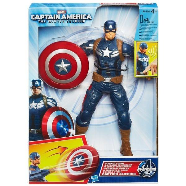 Capitan america figura electronica avengers
