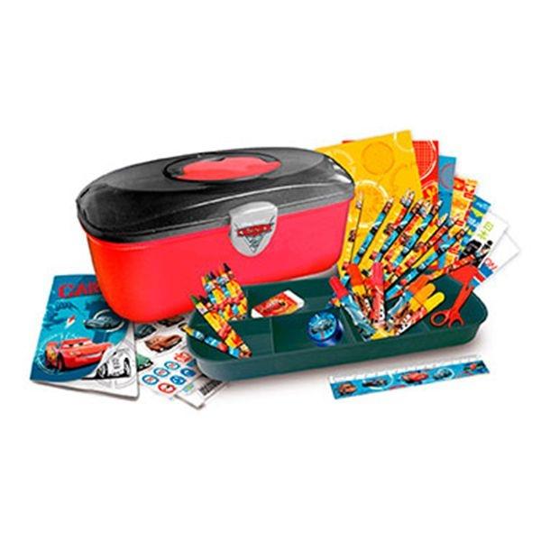 Cars mi caja de herramientas con colores