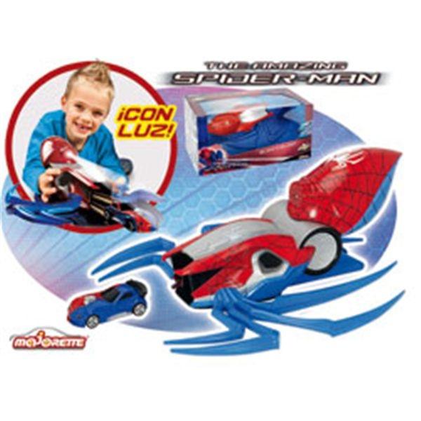 Spiderman lanzador araa + 1 coche
