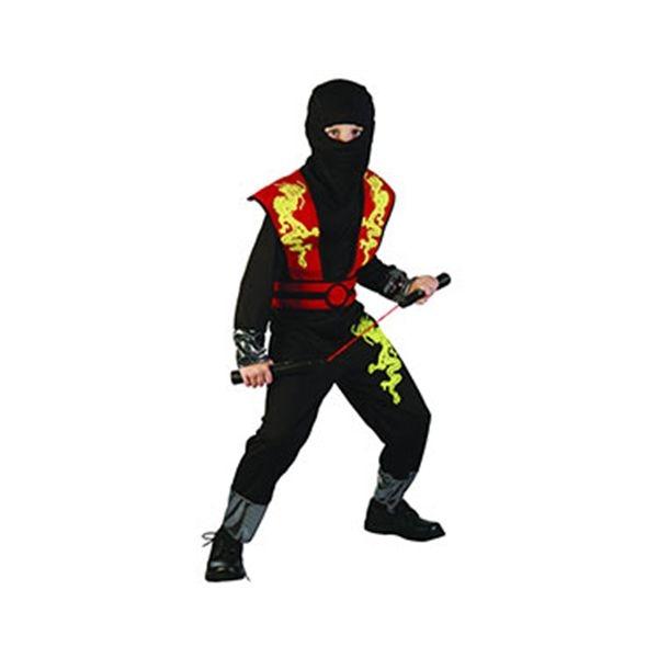 Ninja dragn rojo (talla 7-10 y talla 11-14 aos)