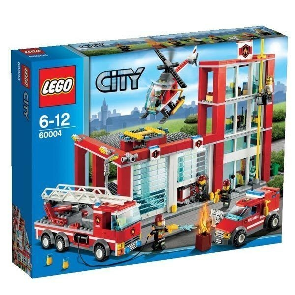 Lego city estacion de bomberos