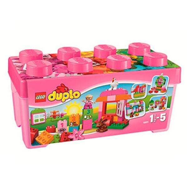 Caja rosa de diversion *duplo