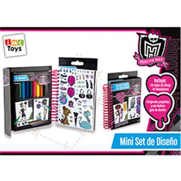 Mini set de diseo monster high