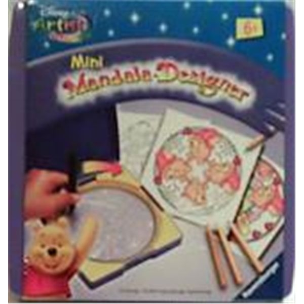Mini mandala winnie the pooh
