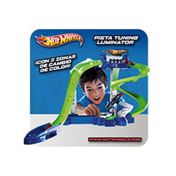 Pista tuninng laminator hot wheels