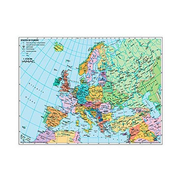 Puzzle 1000 mapa politico de europa