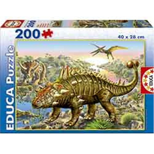 Puzzle 200 dinosaurios